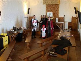 In The Banqueting Hall, Carrickfergus Castle
